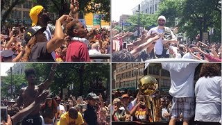Cleveland Cavaliers Championship Parade Up Close (2016)