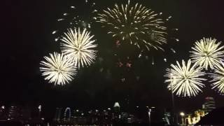 NDP 2016 Theme Song - Tomorrow Here Today ( Fireworks )