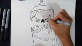 как рисовать аэрозольный баллончик  |  граффити(Рисование аэрозольный баллончик граффити музыка (Audiomicro.com) Thick Bacon., 2014-11-01T01:03:58.000Z)