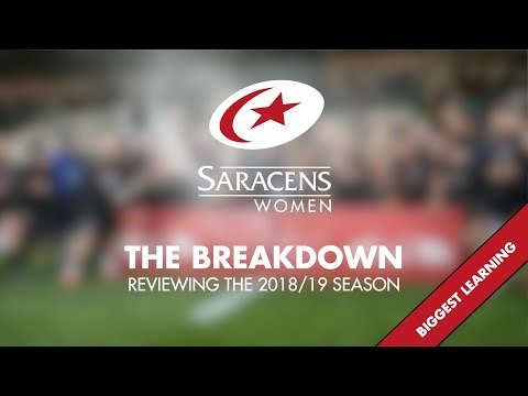 The Breakdown | Saracens Women's Season Review (Biggest Learning)
