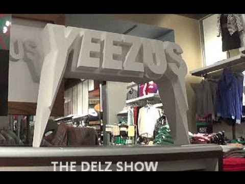 Review On Kanye West's Yeezus Tour Merch With Dj Delz @DjDelz
