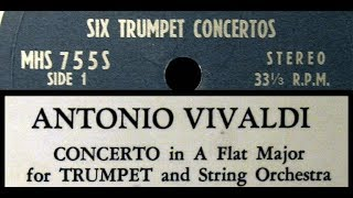 Vivaldi Maurice André 1964 Trumpet Concerto in A Flat