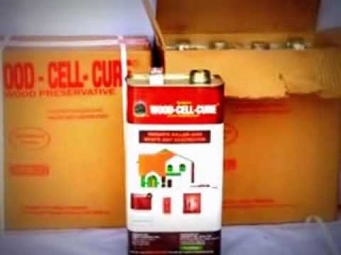 WOOD CELL CURE WOOD PRESERVATIVES (Protect Wood From Termite U0026 Fire)