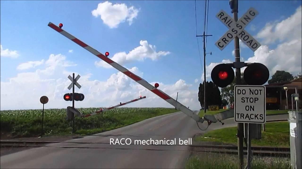Railroad Crossing Bells I've Recorded