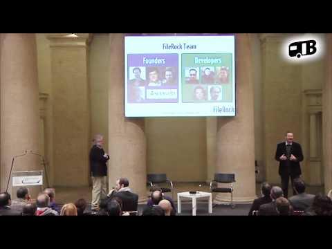 FileRock Pitch - TechGarage 2013 Rome