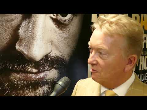 Reporter: DAVID PRICE NEXT FOR TYSON? Frank Warren: I LIKE YOU'RE THINKING!!
