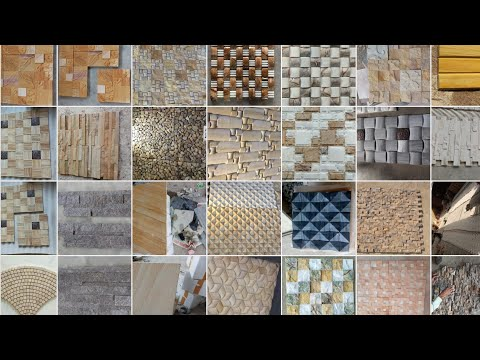 2018 Indian Front Outdoor Exterior Wall Tiles Design for Home and Garden
