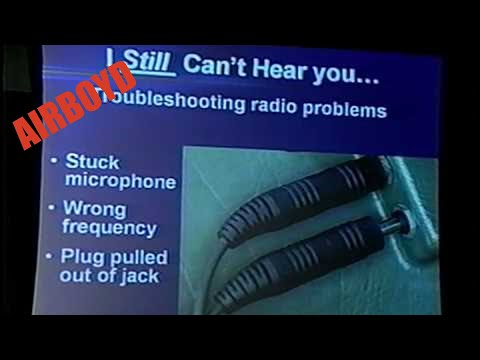 Say It Right! Radio Communications In Today's Airspace (2008)
