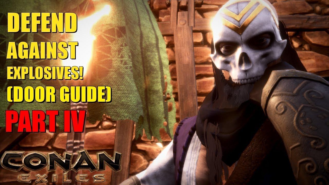 BEST WAY TO BUILD DOORS? (door guide) Part IV - Conan Exiles