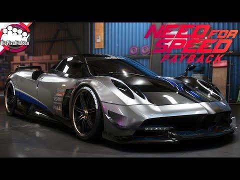 need for speed payback - pagani huayra bc - racerbuild - nfs payback