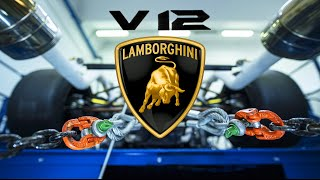 Upcoming Lamborghini V12 Hypercar – ENGINE SOUND