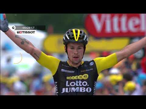 Tour de France - Stage 19 - Last 10 km - Roglic Win - Feed