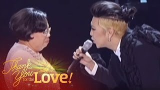 "Vice Ganda sings ""Portrait Of My Love"" for her Mom  at the ABS-CBN Christmas Special 2015"
