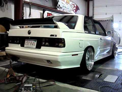 BMW M3 E30 >> E30 M3 S50B32 Carbon Fiber Airbox 285 WHP + 240 TQ - YouTube