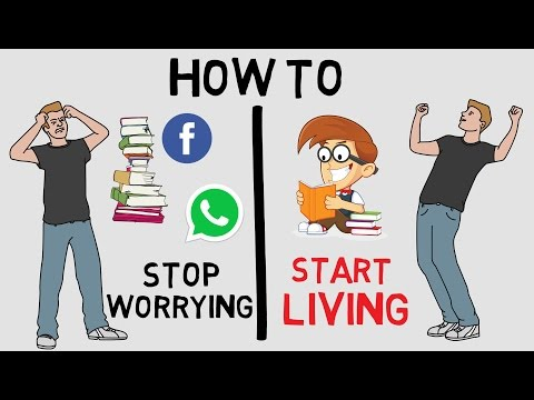 HOW TO STOP WORRYING AND START LIVING IN HINDI BY DALE CARNEGIE - ANIMATED BOOK REVIEW
