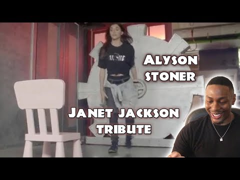 The Janet Jackson Tribute  Alyson Stoner  HIGHLY REQUESTED REACTION!!