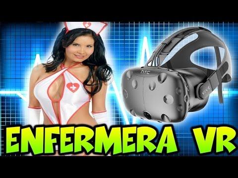 SOY UNA ENFERMERA!! REALIDAD VIRTUAL HTC VIVE - Patty Dragona