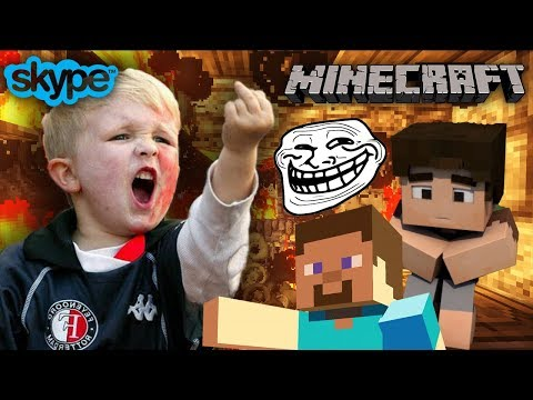 TROLLING LITTLE KID IN MINECRAFT [GONE WRONG!] [GROWTOPIAN]