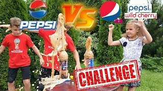 Pepsi Cherry VS Pepsi Classic CHALLENGE