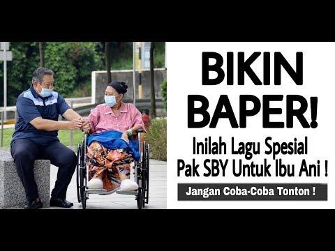 BIKIN BAPER ! Inilah Lagu Spesial Pak SBY Untuk Ibu Ani !