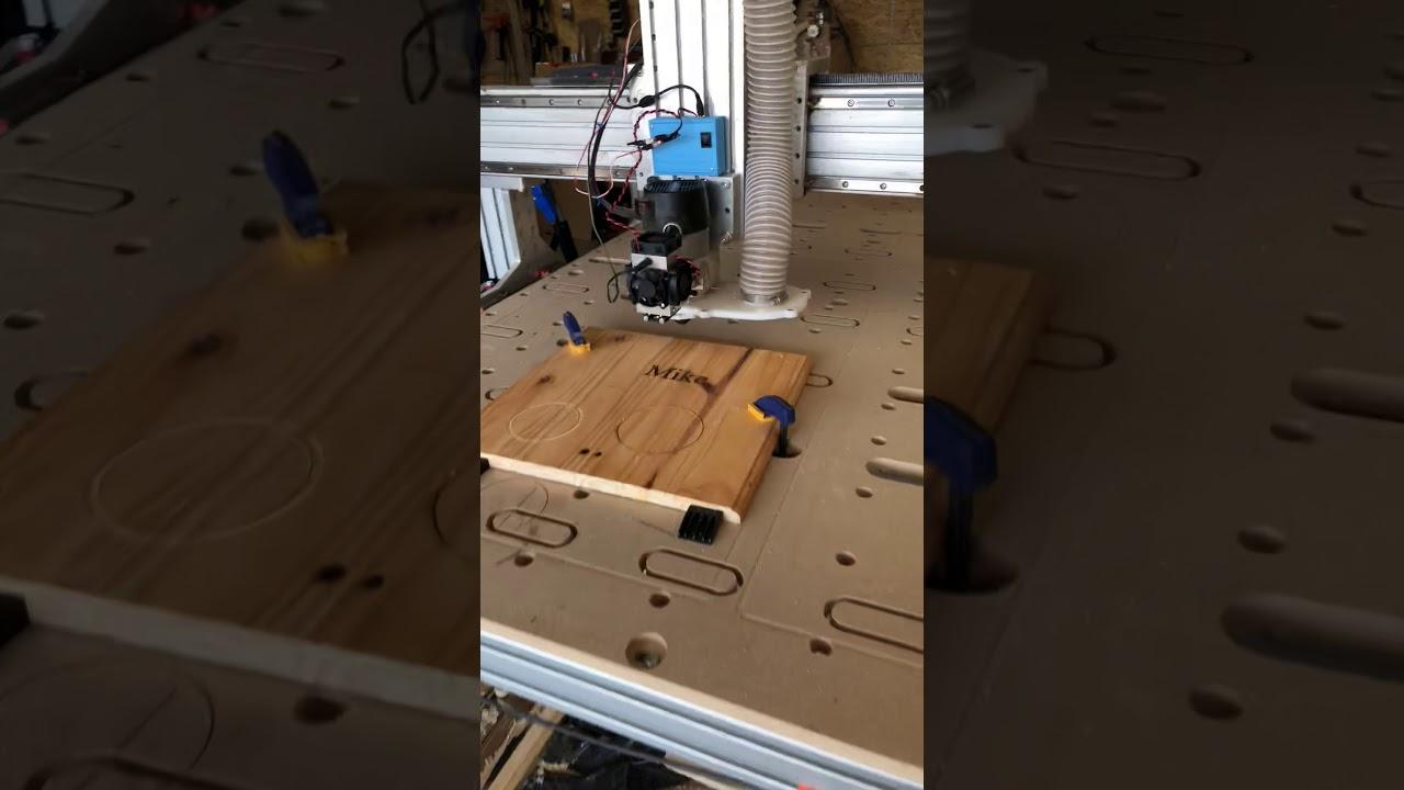 Mach 3 Setup for laser