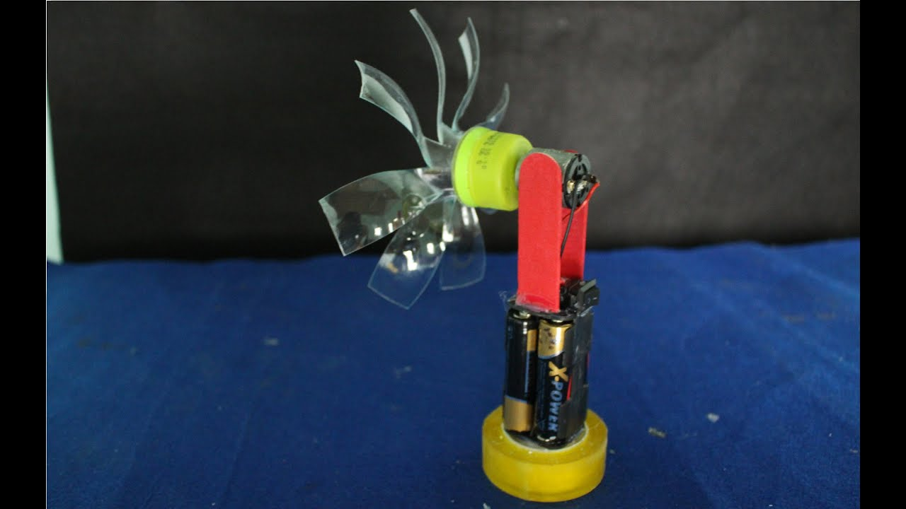 como hacer un estanque en casa como hacer un mini ventilador el ctrico juguete hecho en