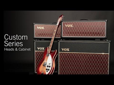VOX Custom Series Head & Cabinet Demo – AC30CH, AC15CH & V212C