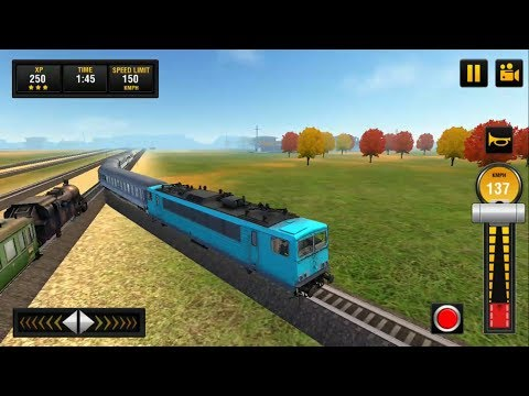 Euro Train 2018: Tourist Driving Simulator Game 3D #2 - Android GamePlay | Train Games for Kids