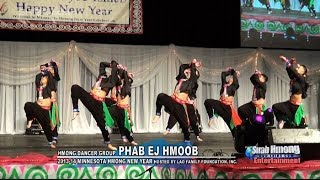 Suab Hmong E-News:  Hmong Dancer Group PHAB EJ HMOOB competed at 2013-14 MN Hmong New Year