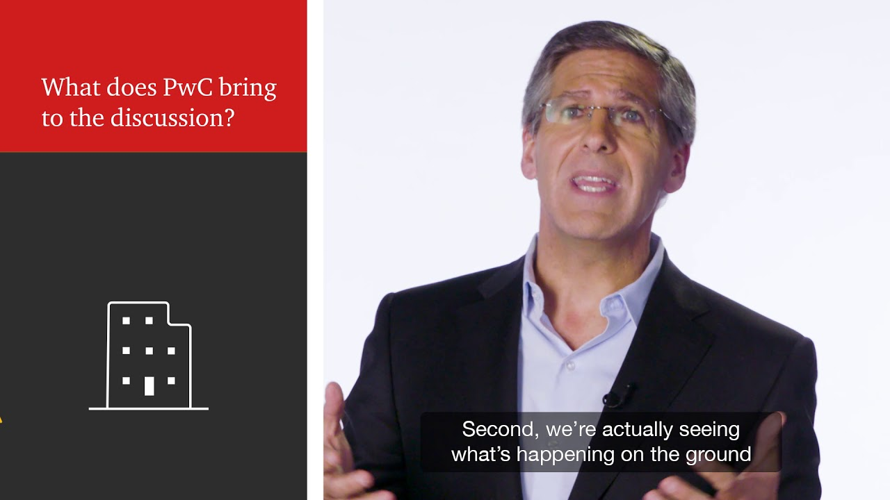 Bob Moritz, PwC Global Chairman, discusses #wef19 and the launch of PwC's  Global CEO Survey