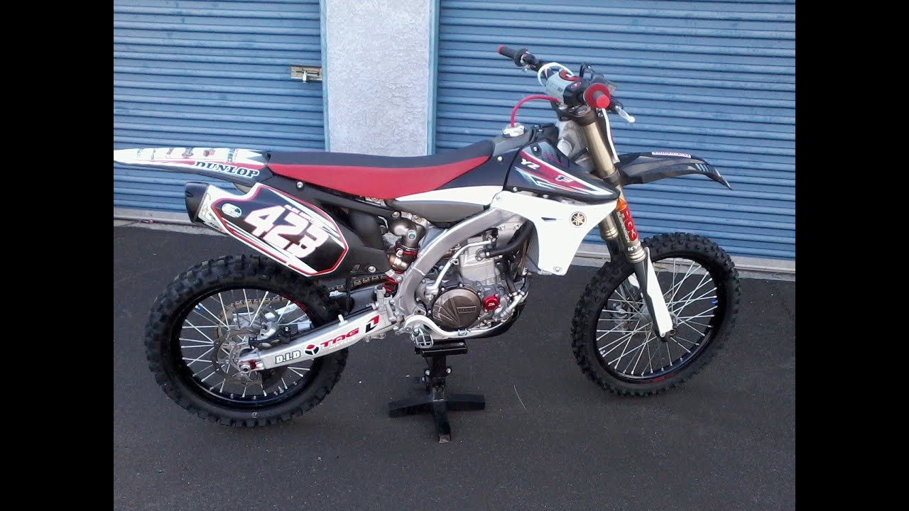 2011 YZ450F WALK AROUND/ Two Brothers M2R EXHAUST TEST - YouTube