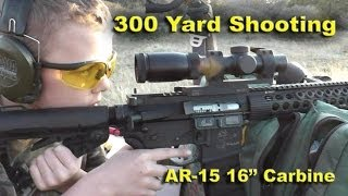 Primary Arms 1-6X Scope with ACSS Reticle Shooing at 300 yards