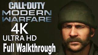 Call of Duty: Modern Warfare (2019) - Full Gameplay Walkthrough No Commentary [4K]