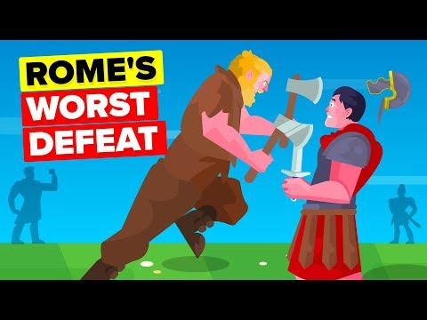 ROME'S GREATEST DEFEAT - Battle Of The Teutoburg Forest