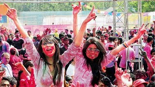 1st Holi Pool Party - Delhi