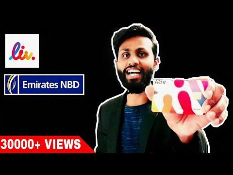 Got My National Bank Of Dubai LIV Card   Emirates NBD   Liv. Digital Lifestyle Bank