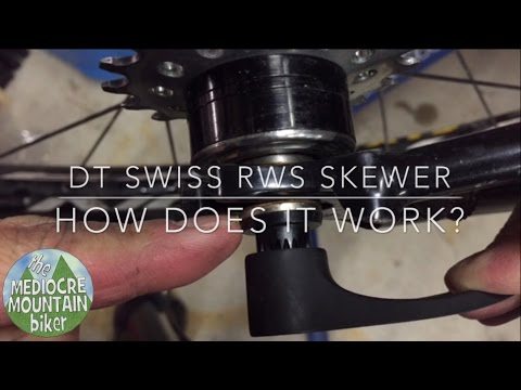 Front DT Swiss Quick Release Skewer
