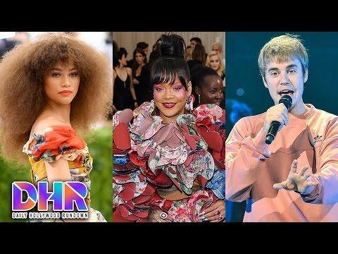 Zendaya's Hilarious Reaction to Rihanna's Shoutout- Justin's CRAZY India Tour Rider Leaks? (DHR)