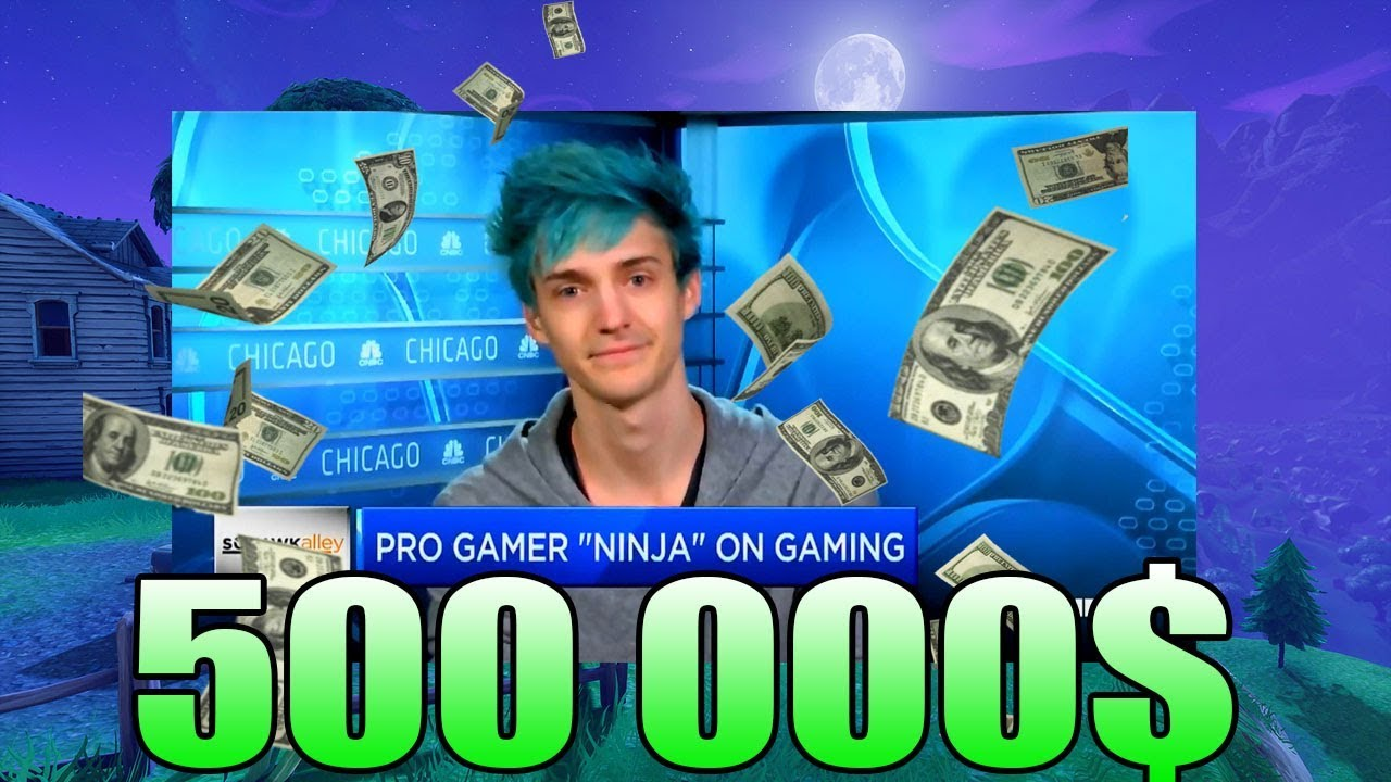 Ninja Reveals His Monthly Money Revenue Playing Fortnite