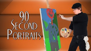 90 Second Portraits! - MINI VAN GOGH, THE ART SENSATION!
