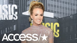 Carrie Underwood Gives Update On Her Face Injury Announces New Music Access