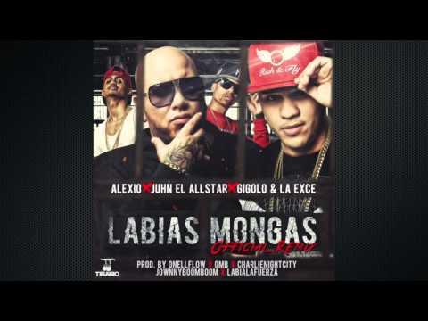 """Juhn """"El All Star"""" - Labias Mongas (Remix) Feat Alexio, Gigolo y La Exce"""