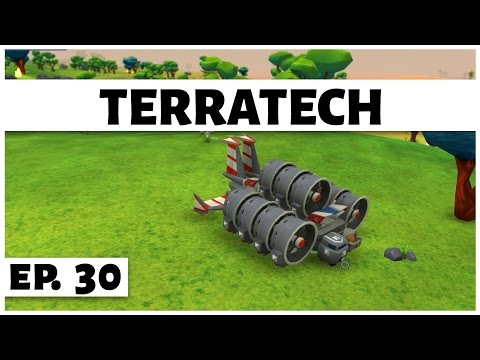 TerraTech - Ep. 30 - Super Fast Hovercraft! - Let's Play