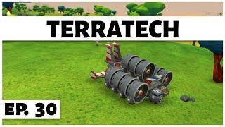 TerraTech - Ep. 30 - Super Fast Hovercraft! - Let