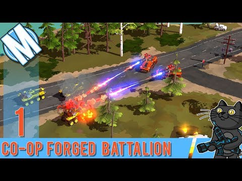 CO-OP 4 vs 4 Forged Battalion | Command and Conquer lives! | Let's Try | CO-OP Gameplay