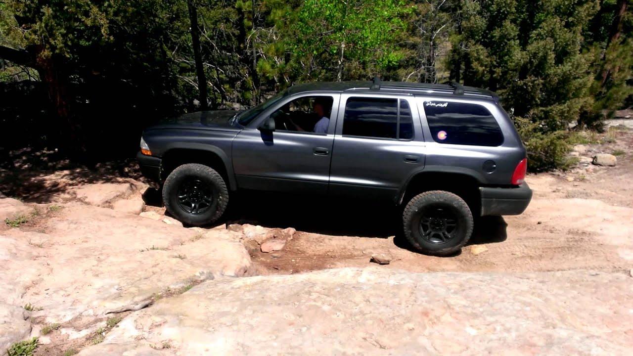 Lifted Dodge Durango Off Road