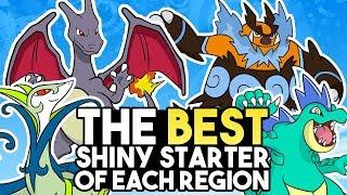 The Best Shiny Starter Line From Each Region