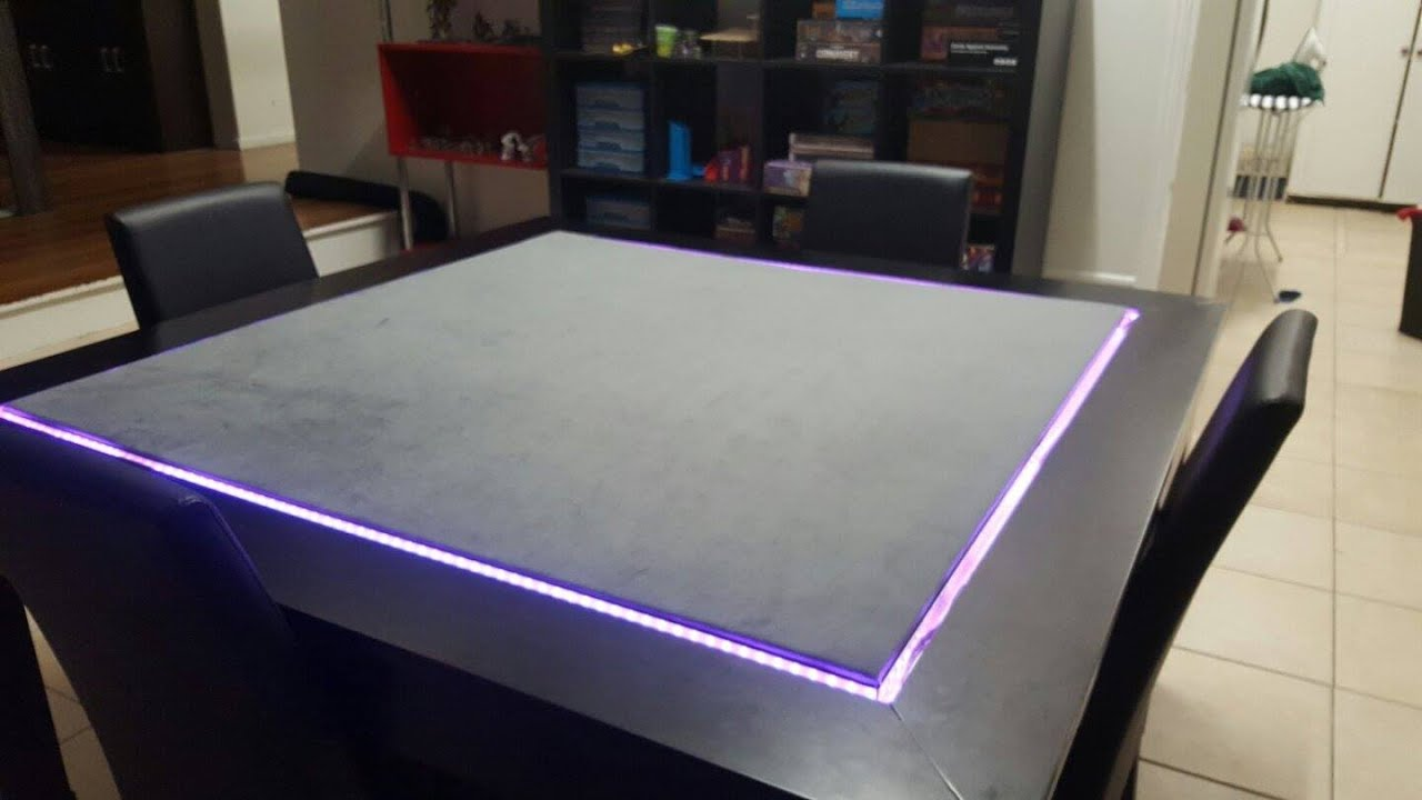Diy Gaming Table For Aud 350 Youtube