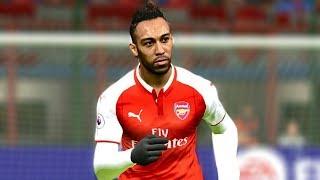 Arsenal vs Man City (Aubameyang's 2 Goals) 25 February 2018 Gameplay