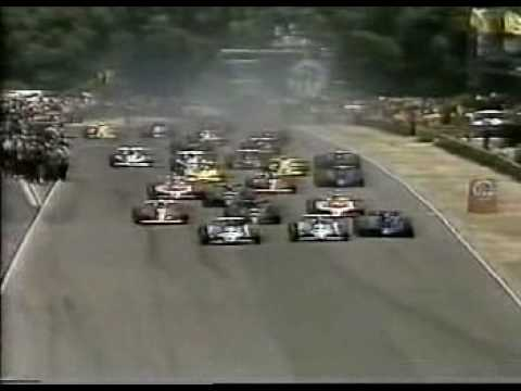 Formula 1 Grand Prix Start and Accident - Argentina 1979
